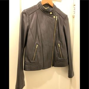 Buttery-soft lambskin leather
